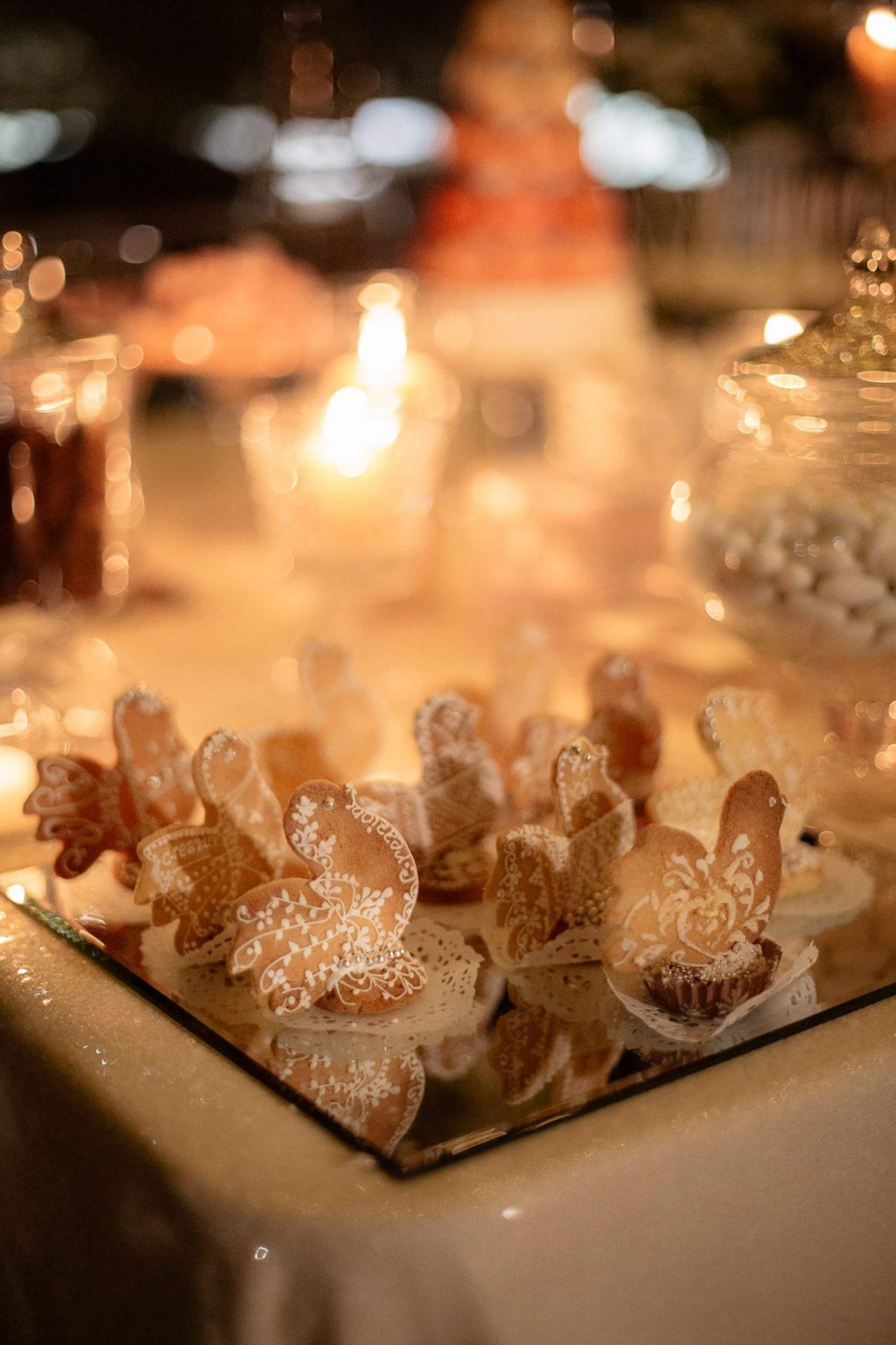 Francesca and Francesco, traditional sweet table