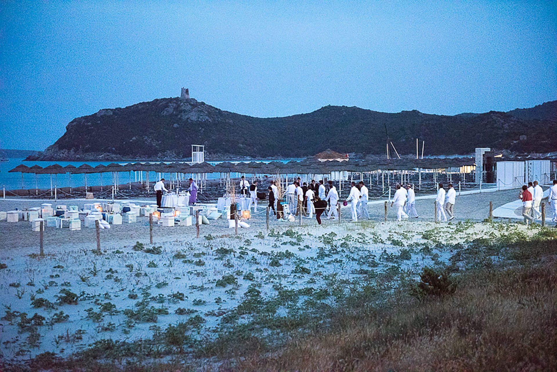 Sardinia, theme party at Timi Ama
