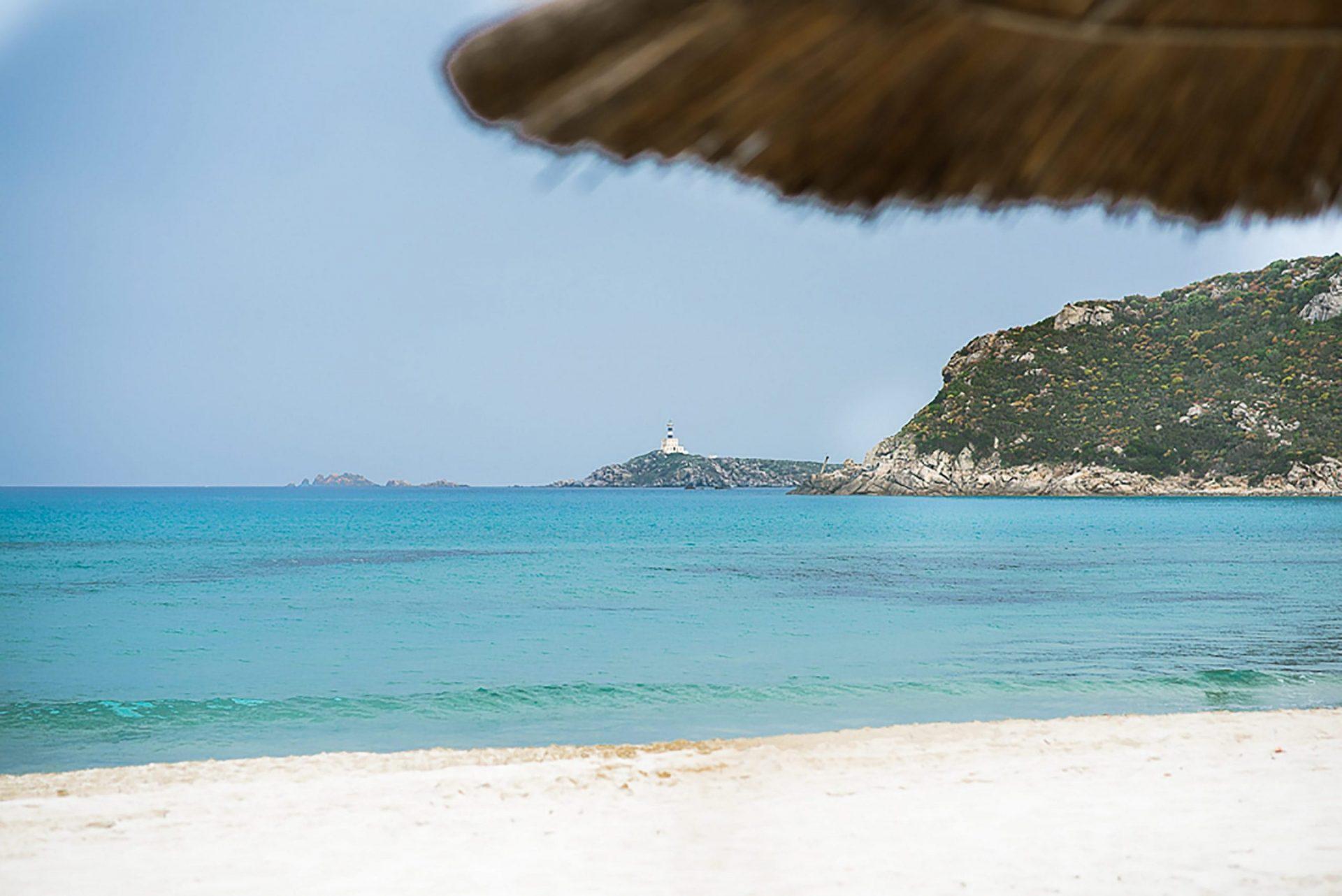 Sardinia. Theme party on the beach, Villasimius