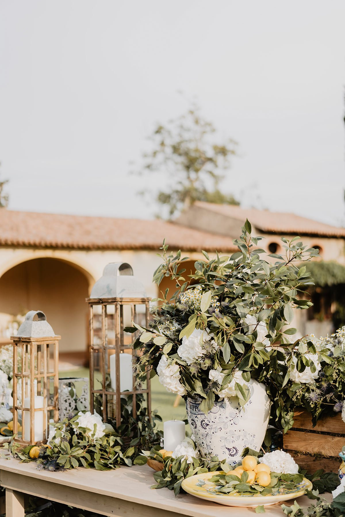 Ranya and Tarek, rehearsal dinner in Italy, design