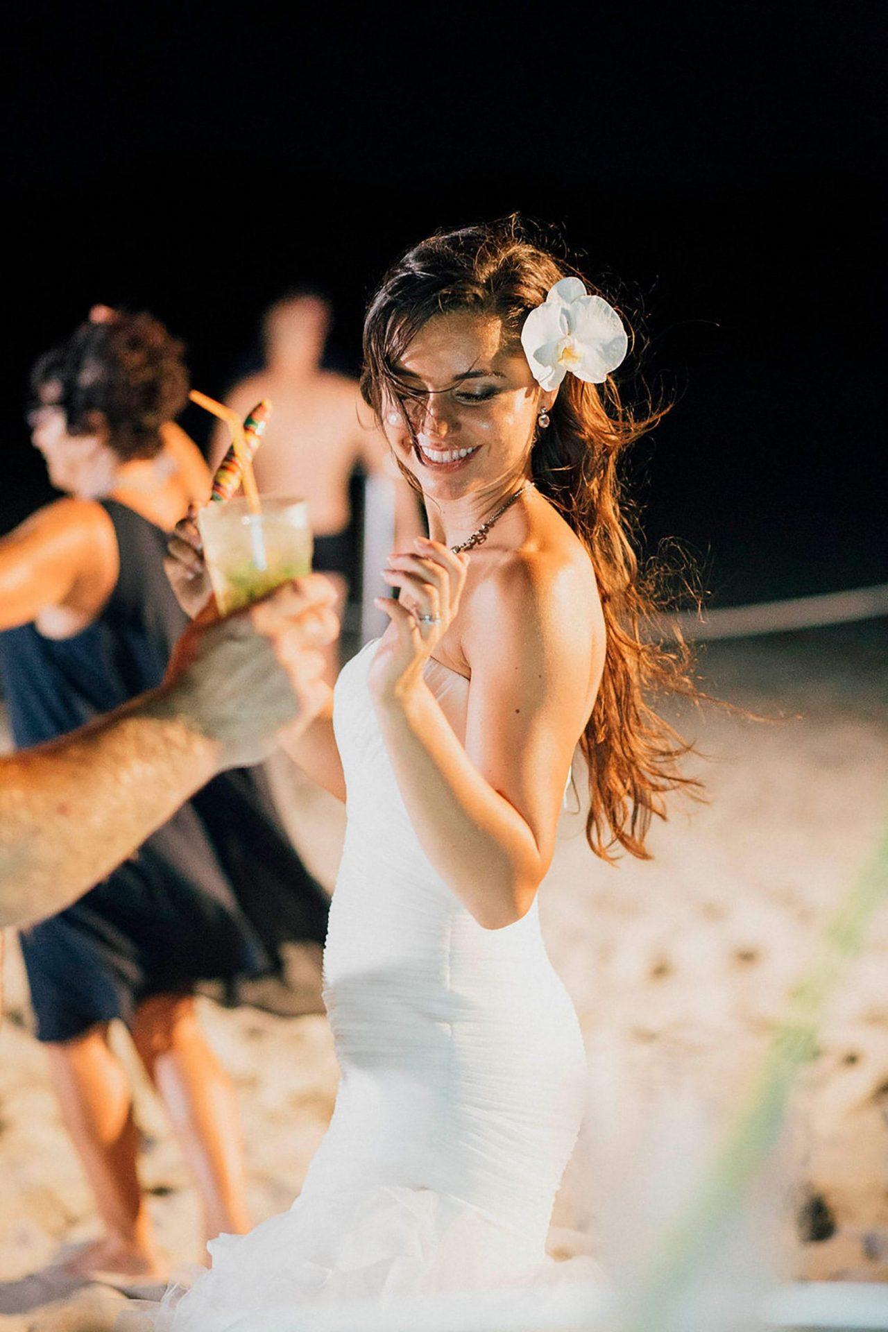 Andrea and Sebastien, bride