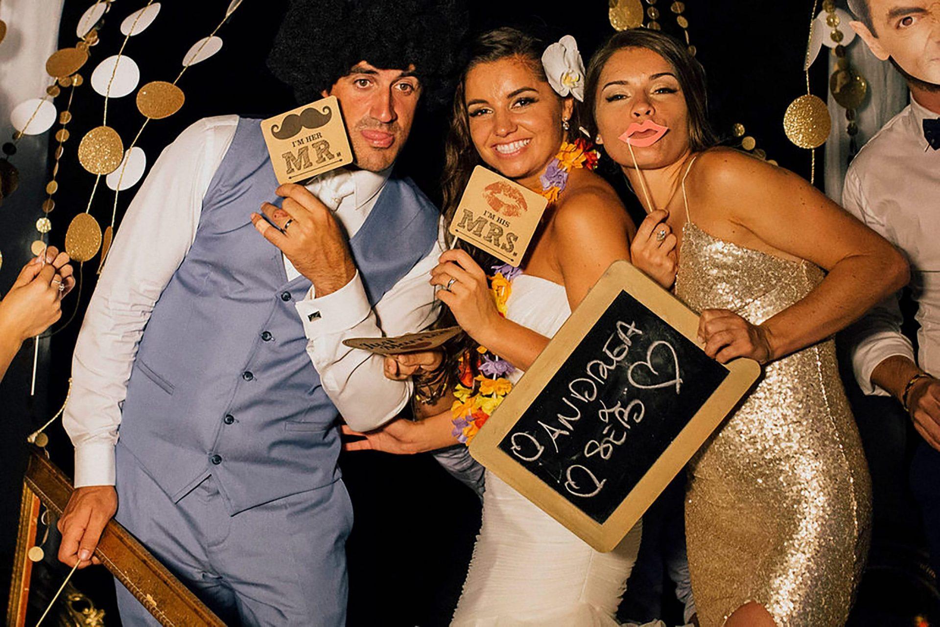 Andrea and Sebastien, wedding party