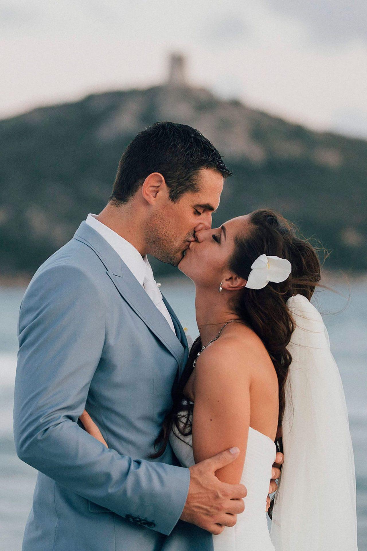 Andrea and Sebastien, wedding in Villasimius