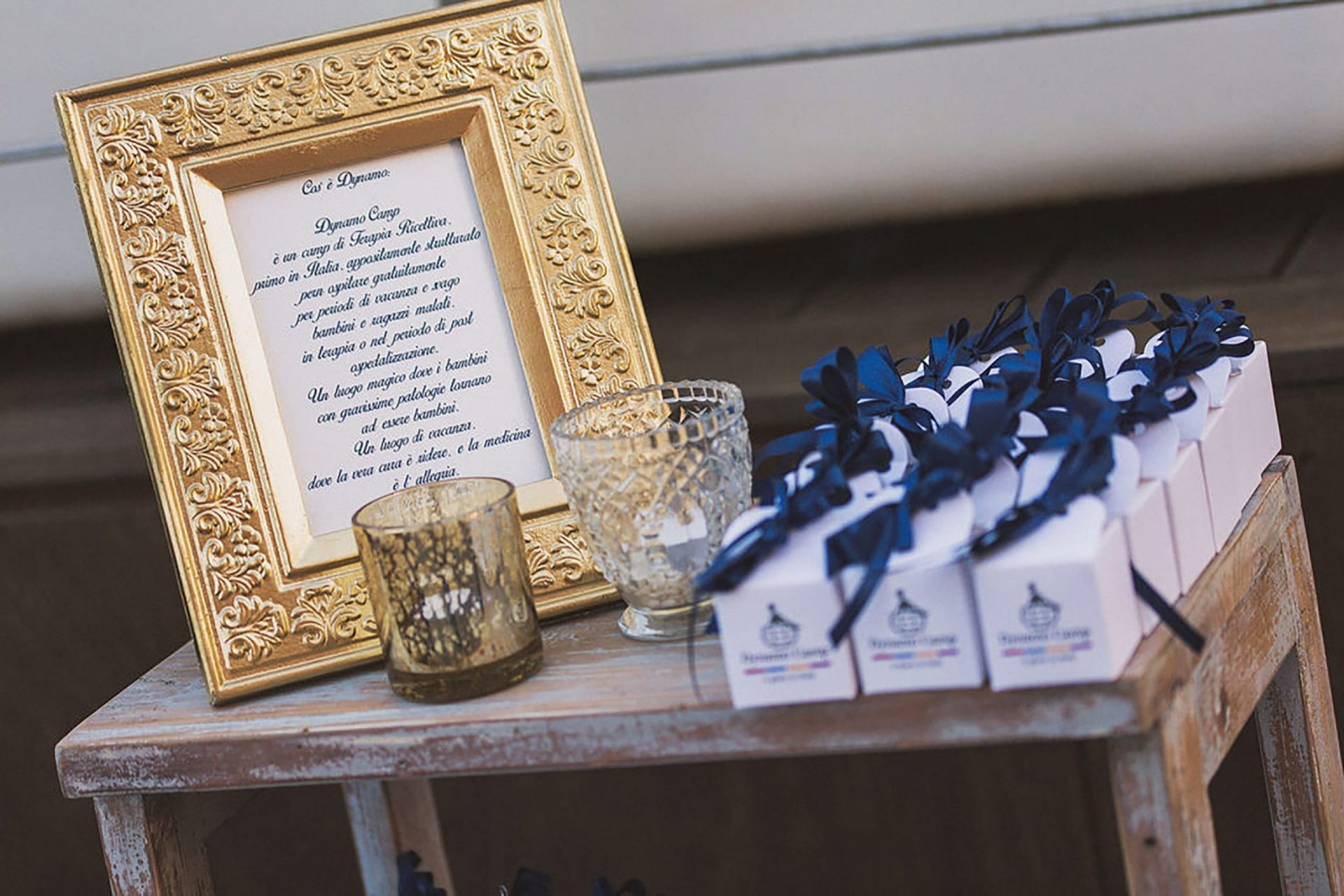 Marianna and Matteo, lighthouse wedding decor