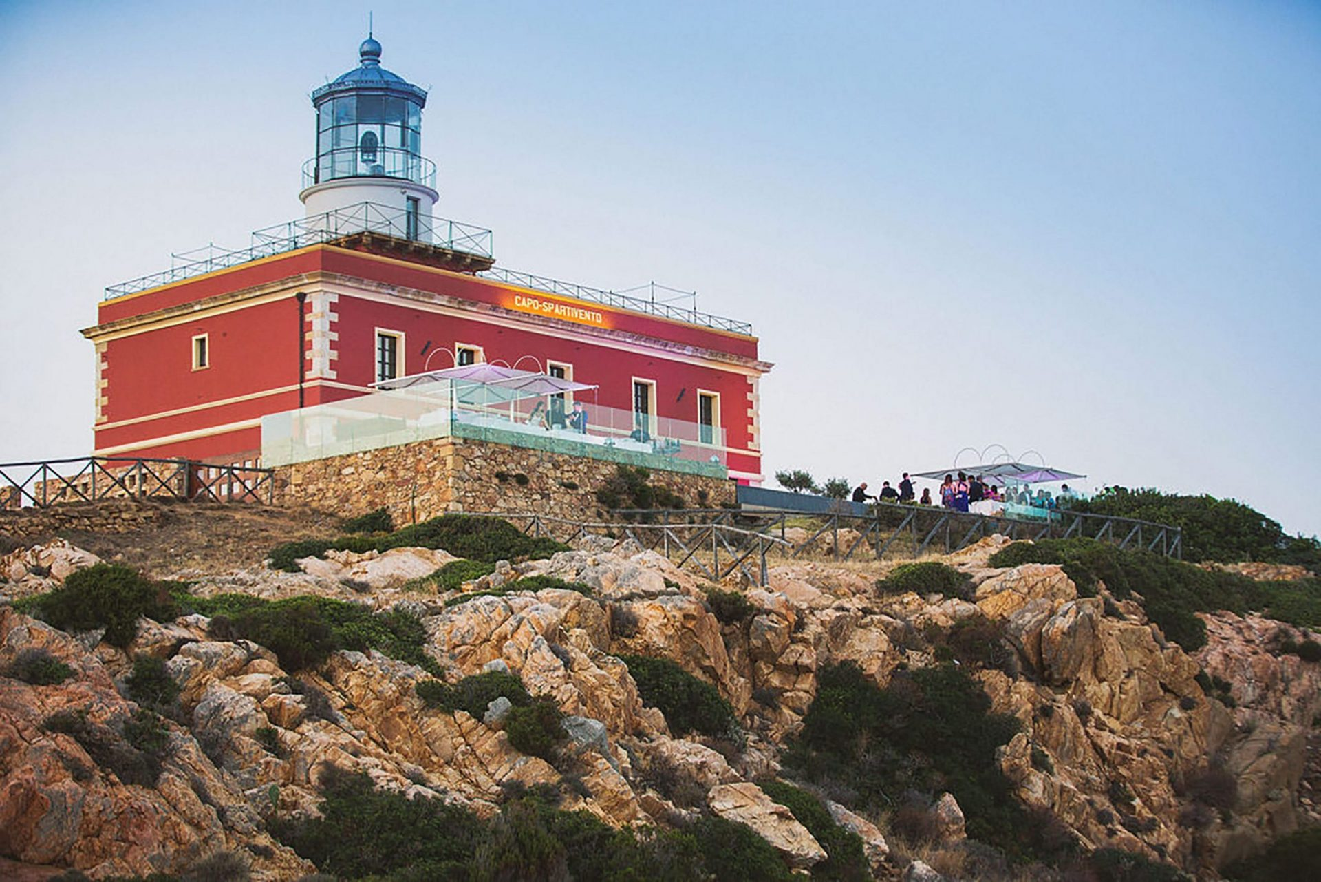 Faro di Capo Spartivento, Sardinia lighthouse
