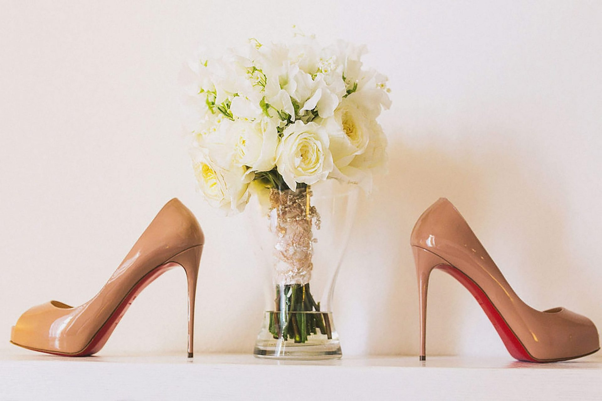 Marianna and Matteo, bride shoes