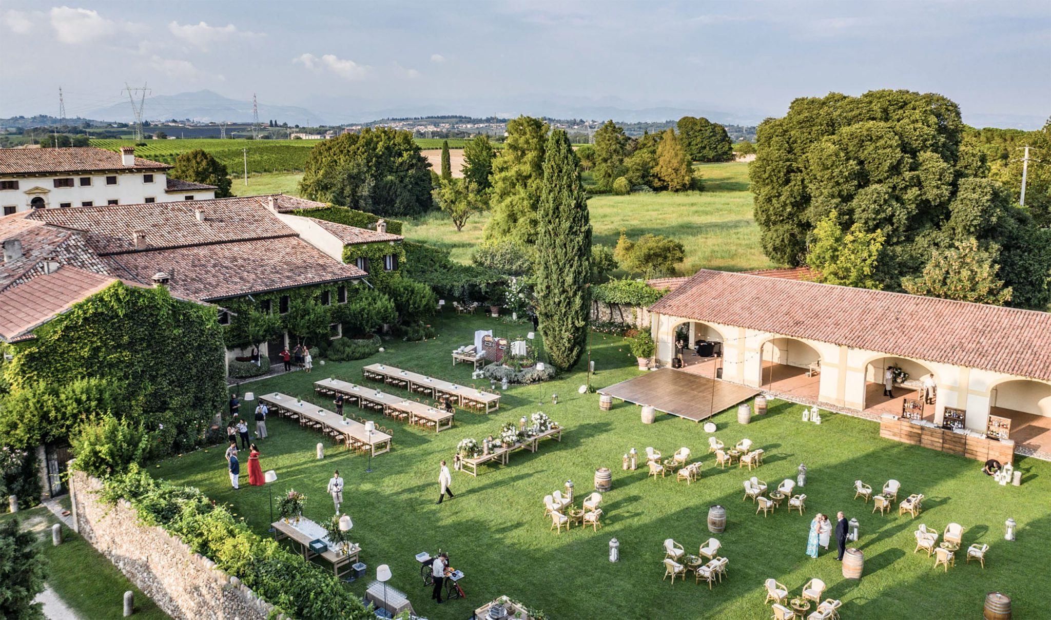Weddings and Events, rehearsal dinner in Veneto