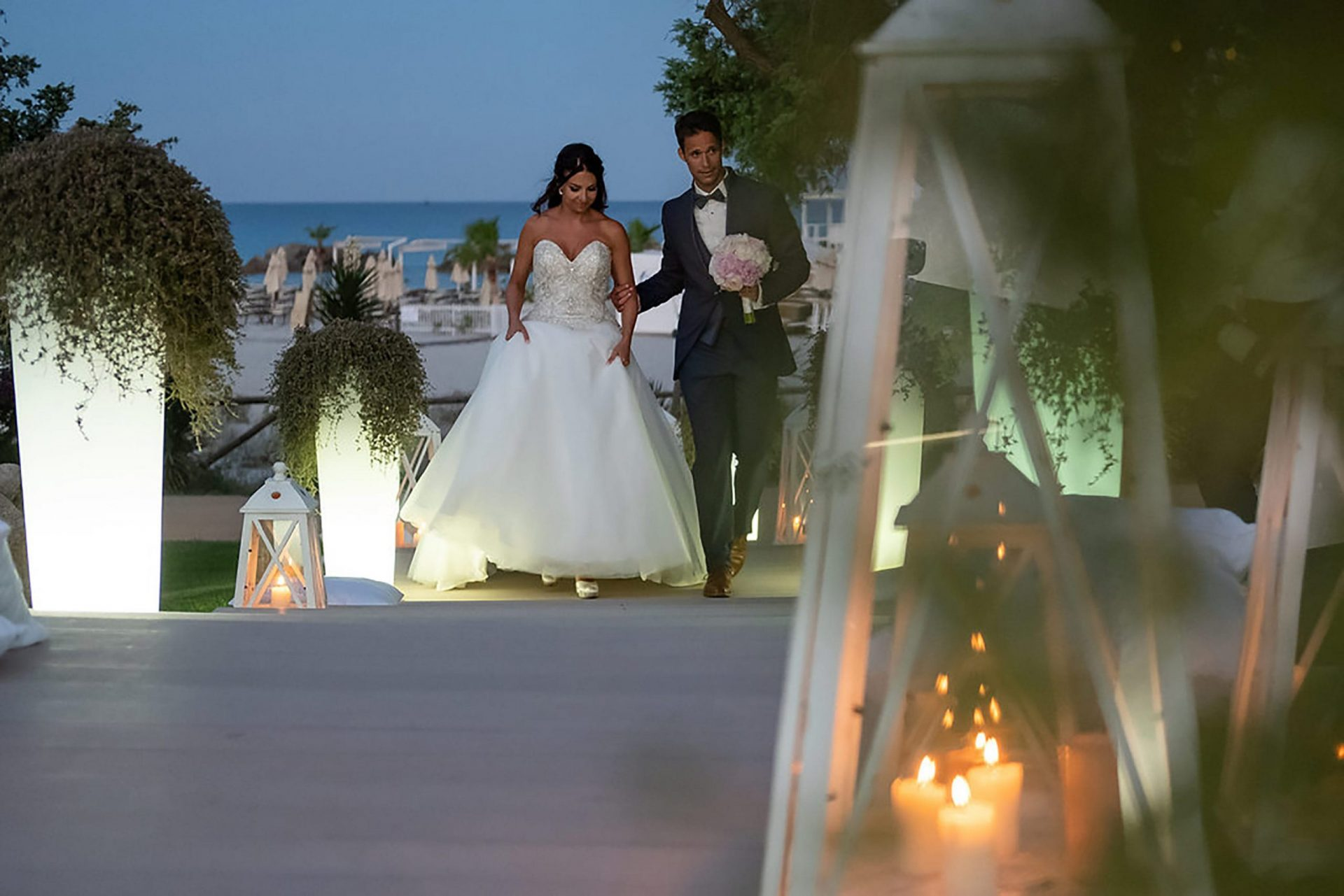 Andrea and Sebastien, wedding at Pullman Timi Ama, Villasimius