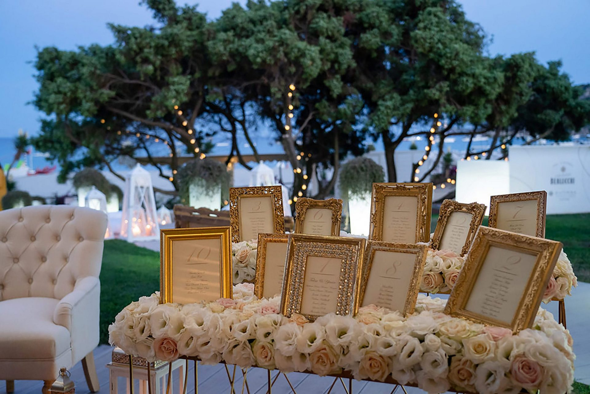 Wedding reception at Pullman Timi Ama, Villasimius
