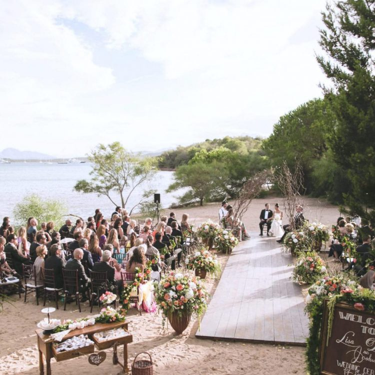 Italy Wedding Planning, exclusive wedding in Cala di Volpe